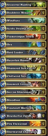 Basic Shaman Deck Zero Dust Cost