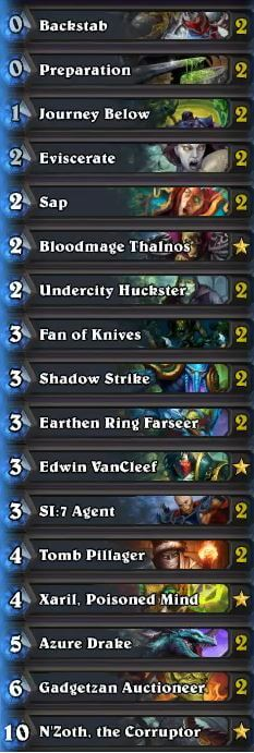 Best Rogue Deck June 2016 Season 27