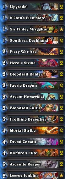 Chakki Pirate Warrior Deck