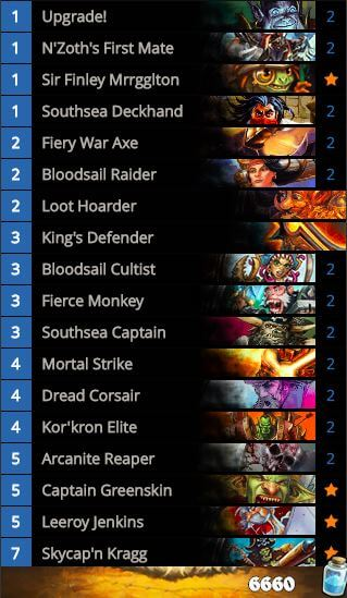 Forsen Pirate Warrior OG Standard Deck