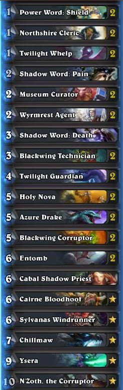 Trump Dragon Priest Deck May 2016