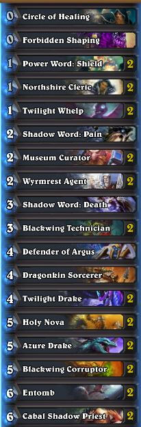how to build a dragon priest deck
