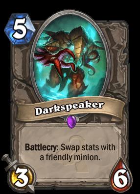 Darkspeaker Hearthstone Card