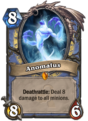 Anomalus Mage Legendary Hearthstone Card