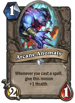 Arcane Anomoly Hearthstone Card One Night in Karazhan
