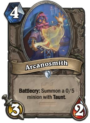 Arcanosmith Hearthstone Card One Night in Karazhan