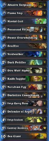 Best Warlock Wild Deck Zoolock