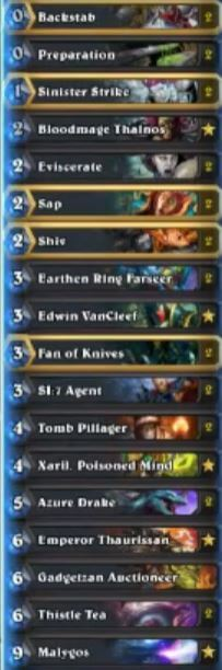 Dog Rogue Malygos Deck w Thistle Tea