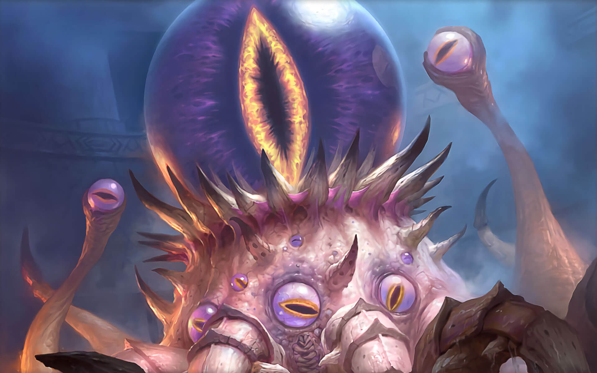 Hearthstone C'Thun Wallpaper Art