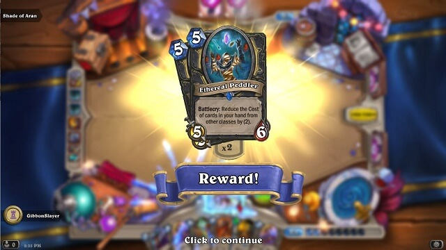 How to Get HS Card Ethereal Peddler