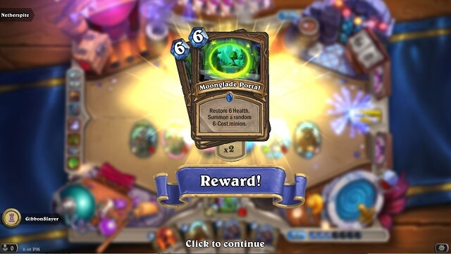 How to Get HS Card Moonglade Portal