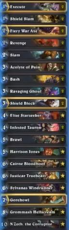 Kolento Legendary N'Zoth Control Warrior