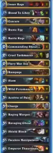 Kolento Warrior OTK w Runic Egg Deck