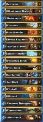 Kranich Karazhan Freeze Mage Deck