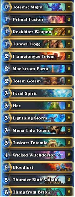 Loyan Totemic Might Totem Shaman Deck w Wicked Witchdoctor