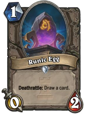 Runic Egg Hearthstone Card One Night in Karazhan