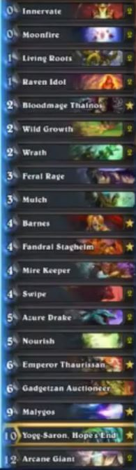 Sjow Malygos Barnes Druid Deck