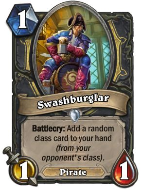 Swashburgler Hearthstone Card One Night in Karazhan