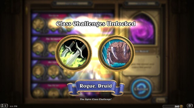 The Spire Class Challenges Rogue Druid