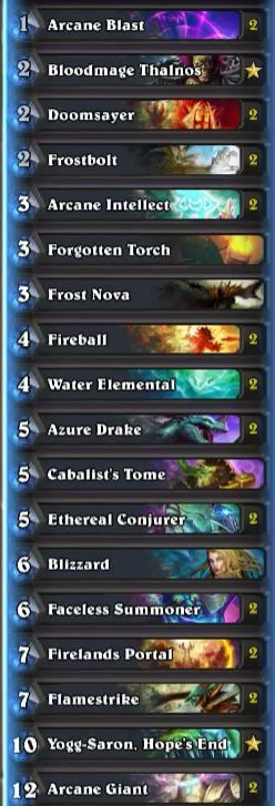 Trump Control Mage Deck w Arcane Giants