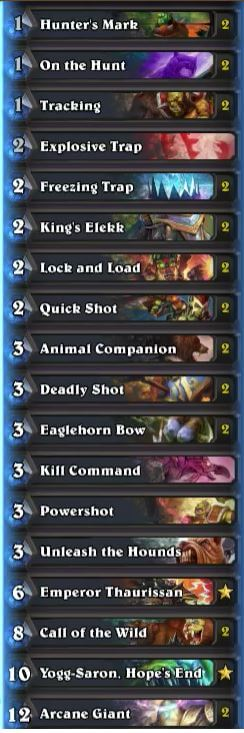 Trump Yogg and Load w Arcane Giants Deck