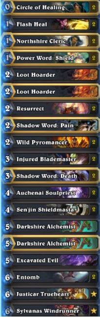Zetalot Season 29 Legend Priest Deck List