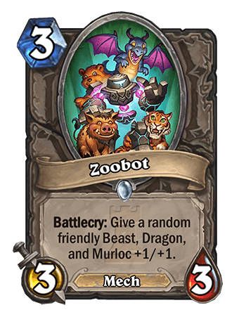 Zoobot Hearthstone Card One Night in Karazhan