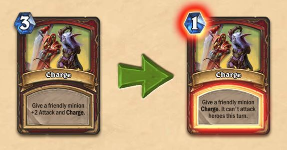 Charge Nerf Card Balance Change for Warrior