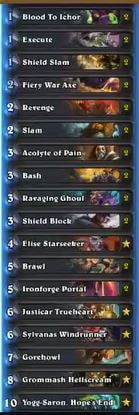 Cipher Karazhan Control Warrior w Ironforge Portal