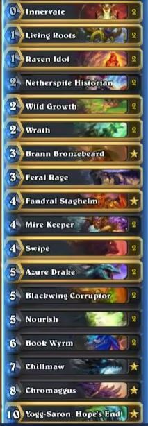Dog Dragon Druid Deck Sep 16