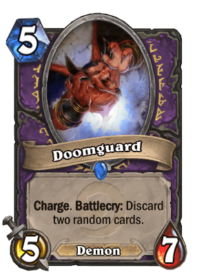 Doomguard Hearthstone Card Warlock