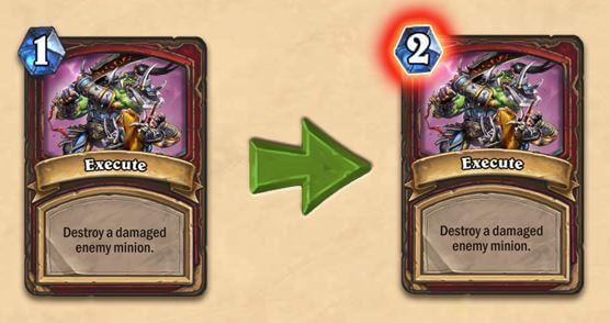 Execute Nerf Card Balance Change for Warrior