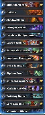 Medivh the Guardian Renolock Deck 2