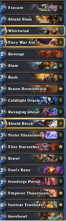 Neviilz Control Fatigue Warrior w Violet Illusionist Fools Bane