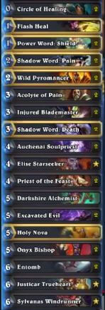 Senfglas High Legend Control Priest Deck Season 30