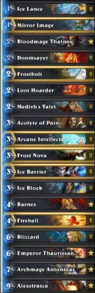 Thijs Karazhan Freeze Mage September Season 30