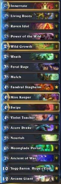 thjis moonglade portal yogg token druid deck sep 16