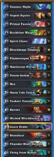 Xixo Totemic Might Shaman Deck Sep