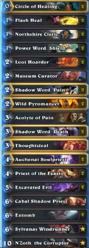 Kolento N'Zoth Priest Deck Oct Season 31