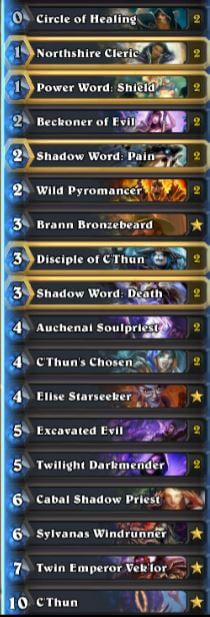 Thijs C'thun Priest Deck Season 31