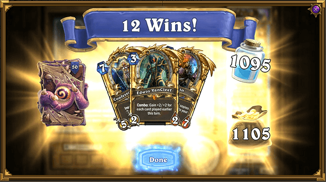 What Are the Rewards for 12 Wins in Heroic Tavern Brawl