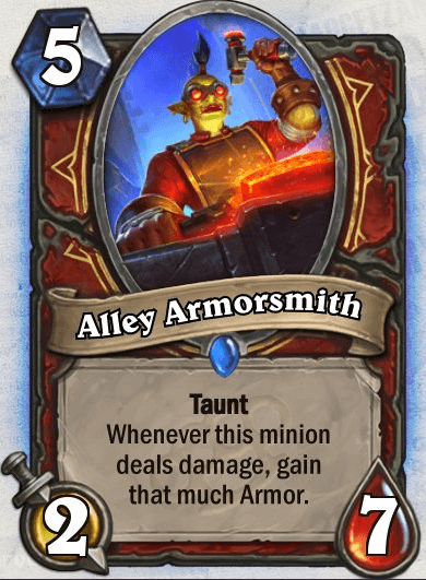 Alley Armorsmith HS Warrior Card