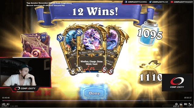 Asmodai Cosplaygrill 12 Win Heroic Tavern Brawl Tempo Mage Rewards