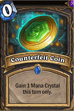 Counterfeit Coin HS Rogue Card