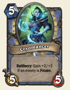 Cryomancer HS Mage Card
