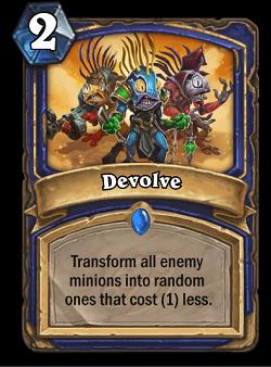 Devolve HS Shaman Card