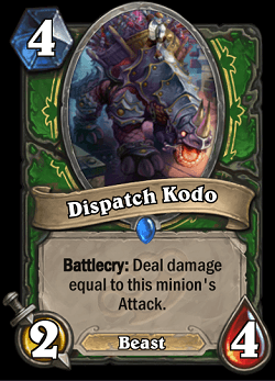 Dispatch Kodo HS Hunter Card
