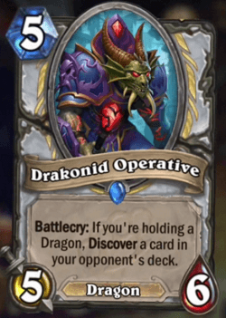 Drakonid Operative HS Priest Card
