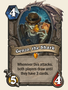 Genzo, the Shard HS Legendary Card