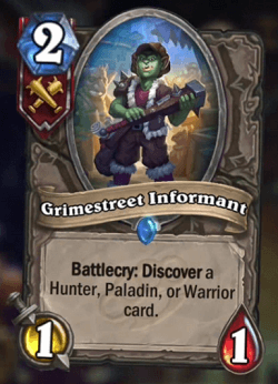 Grimestreet Informant HS Card
